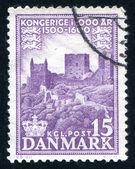 Hammershus castle ruins — Stock Photo