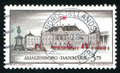 Castle Amalienborg Copenhagen — Stock Photo