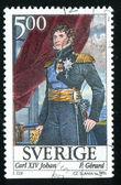 King Carl XIV Johan — Foto Stock
