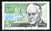 Ragnar Granit neurophysiologist — Foto Stock