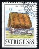 Sheep shelter Gotland — Foto Stock