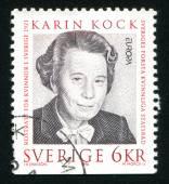 Karin Kock — Foto Stock