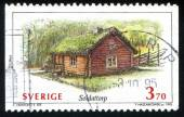 Country cottage — Stock Photo