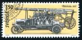 História automóvel sueca — Foto Stock