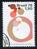 Symbolic of Smallpox Eradication — Stok fotoğraf