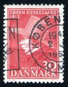 Soren Kierkegaard philosopher and theologian — Stock Photo