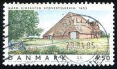 Ejdersted Farm Southwest Schleswig — Stock Photo