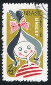 Whimsical Girl — Stock Photo