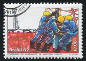 Oil Drilling Centenary — Stock Photo