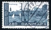 Aalborg Harbor — Stockfoto