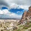 Ancient stony houses in Cappadocia — Stock Photo #53440655