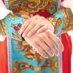 Russian national costume — Stockfoto #63912843