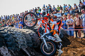 Red Bull 111 Mega Watt: Motocross and hard enduro race — Foto de Stock