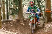 Coureur de motocross à la course de Rodeo Drapak — Photo
