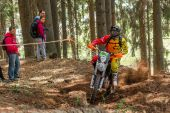 Motocross ryttare i årets Drapak Rodeo — Stockfoto