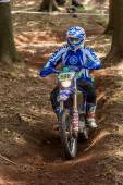 Motocross rider at the Drapak Rodeo Race — Foto de Stock