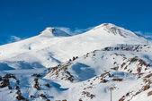 Elbrus in snow — Stock Photo