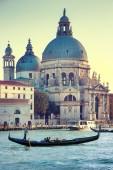 Canal grande a venezia, italia — Foto Stock