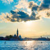 Beautiful Sunset in Venice — Stock Photo