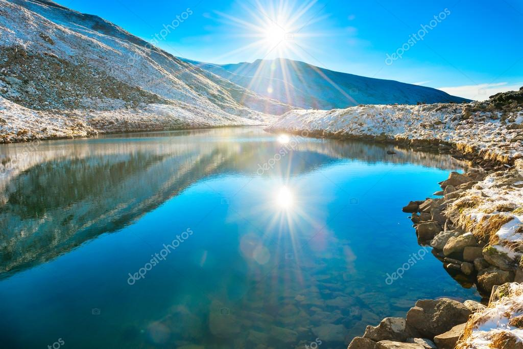 <b>Beautiful Blue Lake In</b> The Mountains Of California. Stock Photo ...