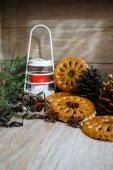 Christmas time decoration — Stock Photo