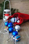 Decoração do tempo de natal — Fotografia Stock