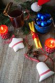 Decoración de la época de navidad — Foto de Stock