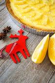 Torta di arancia — Foto Stock