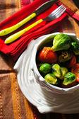 Healthy dinner — Stock Photo