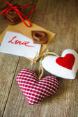 Love letter for Valentine's Day — Stock Photo