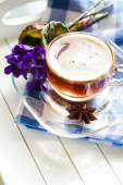 Spring time coffee — Stock Photo