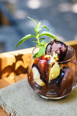 Chocolate icecream — Stock Photo
