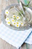 Summertime Table Setting — Stock Photo
