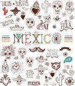 Mexican — Stock Vector