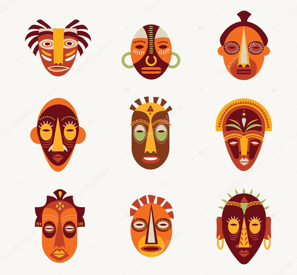 Designs For African Masks African Patterns And Designs On