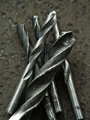 Old drill bits — Stock Photo