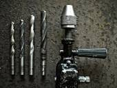 Old drill — Stock Photo
