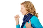 Young woman has a flu — Stockfoto