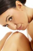 Spa woman looking with desire at the camera — Stock Photo