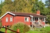 Scandinavian cottage — Stock Photo