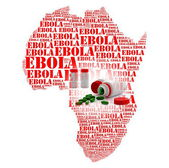 Ebola african   hemorrhage fever — Stock Photo