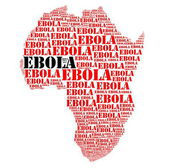 Ebola african   hemorrhage fever — Stock Photo