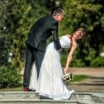 Bride and groom — Stock Photo #70057985