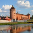 The powerful walls of the Kremlin. Kolomna. Russia — Stock Photo #53010609
