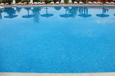 Pool with blue water — Stock Photo