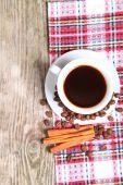 Witte kop koffie — Stockfoto