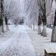 City alley in winter. — Stock Photo #62230393
