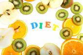 Fruit diet — Stock Photo