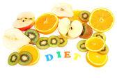 Fruit diet — Stock Photo