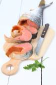 Salted red fish — Stock Photo